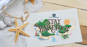 stay barefoot