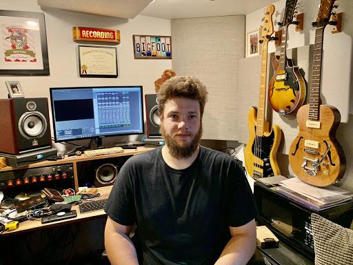 Travis Geiman, owner and operator of Bigfoot Studios. Image courtesy of Tanner Wertz.