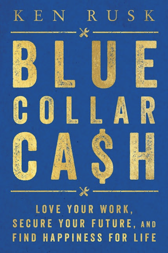 Blue Collar Cash was released on July 28 by Dey Street Books, an imprint of HarperCollins. Photo courtesy: Fortier Public Relations.
